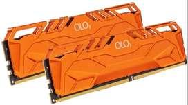 RAM 16GB DDR4 OLOy (2x8GB) 3600 MHz CL18 1.35V 288-Pin Desktop Gaming UDIMM (MD4U0836180BHMQA)