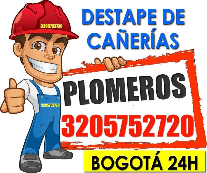 DESTAPE DE CAÑERIAS - PLOMEROS BOGOTÁ - VACTOR 320¬5752720 0