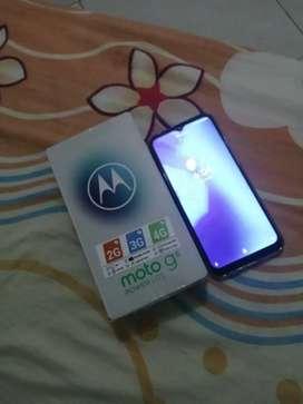 A la venta Motorola g8 power Lite nuevo con blindaje de pantalla con caja y factura