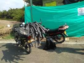 Se ofrece domicilio con moto y permiso de trabajo para todo el quindio y calle