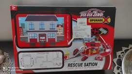 Estación de rescate para armar