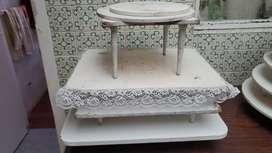 Mesas para ponques