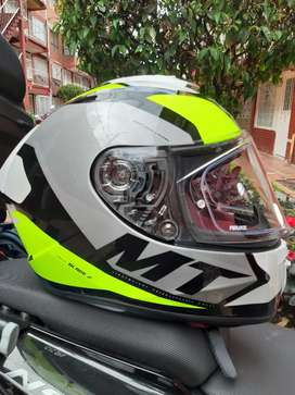 Casco moto Mt Blade 2 verde talla S