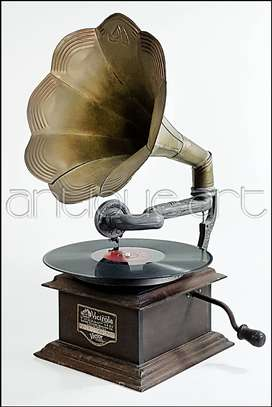 A64 Victrola Antigua Victor Talking Machine Vitrola Vintage