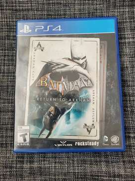 Juego ps4 Batman return to arkham