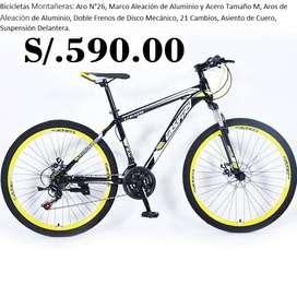 Bicicleta Montañera Aro N°26