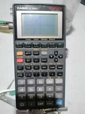 Calculadora Casio fx 7400 G graficadora científica programable