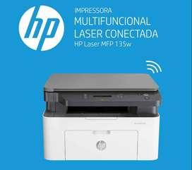 impresora monocromatica multifuncional