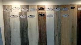 Pisos sistema Clic PVC, Laminados, Stone, WPC