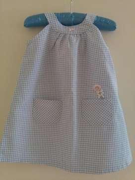Vestido Nena 2 Años Importado De Italia Como Nuevo