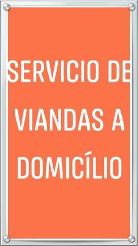 Servicio de Viandas a Domicílio
