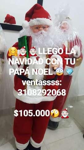 PAPÁ NOEL NAVIDEÑOS NAVIDAD