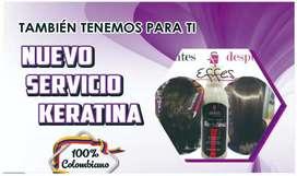 KERATINA COLOMBIANA 100% ORGANICA
