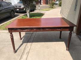 REMATO escritorio de madera estilo colonial