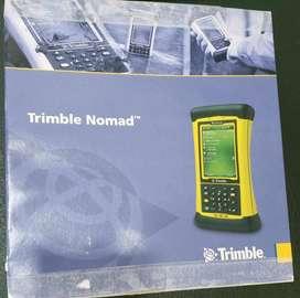 COLECTOR DE DATOS TRIMBLE NOMAD SOFTWARE DE CAMPO FIELD GENIUS