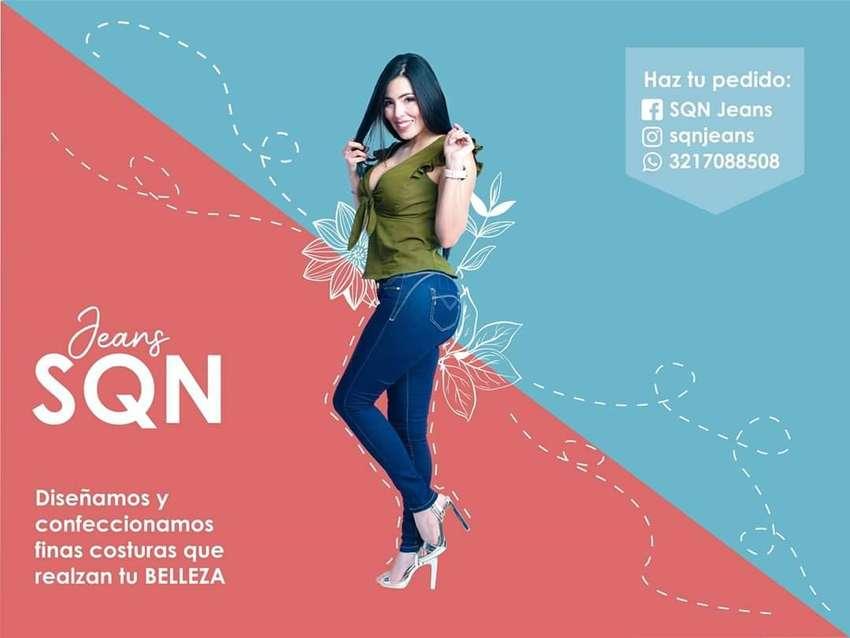 Jeans dama SQN Jeans