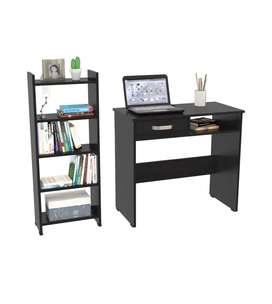 Combo escritorio y bibliiteca