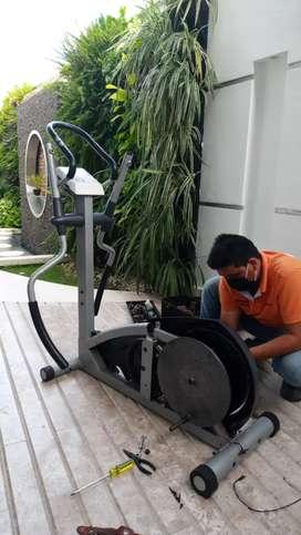 Reparaciones de Bicicletas spinning, estáticas, elíptica, etc.