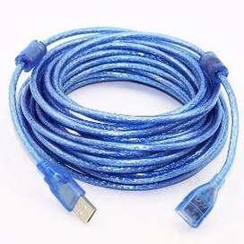 Cable de Extension USB 5 Metros Blindado