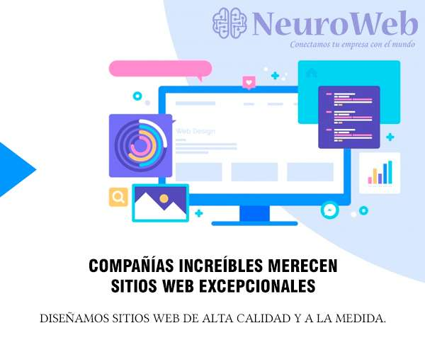 Diseño de sitios web en cali - Neuro Web