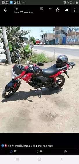 Vendo moto italika 125z