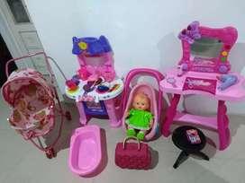 Combo de juguetes para niña