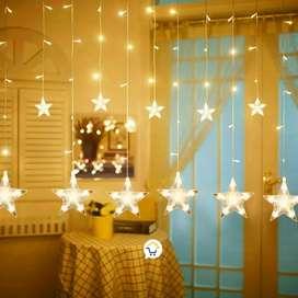 Luces estrellas x 136 luces de 3 metros