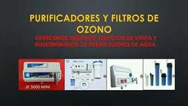 Filtros para Agua de ozono