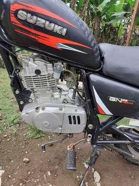 Moto Suzuki Gn125 Año 2012 papeles al dia, un solo dueño