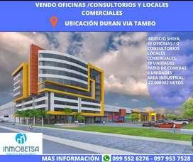 Oficinas, Galpones y Locales Comerciales en venta ubicación Duran vía Tambo.