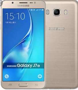 Vendo Samsung j7 dorado impecable