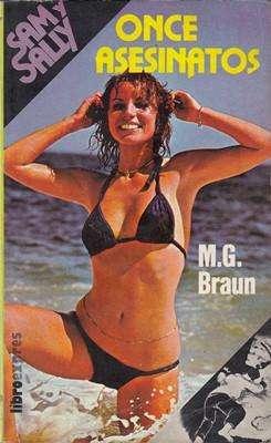 Libro: Once asesinatos, de M.G. Braun [novela de suspenso]