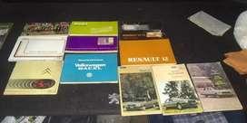 Manuales de diferentes marcas y modelos