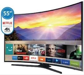 Smart Tv Samsung 4k Ultra Hd Un55mu6300
