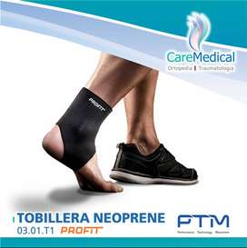 Tobillera Neopreno T1- PTM - Ortopedia Care Medical