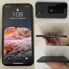 Vendo iPhone 11 con cargador completo original. Estado 9/10