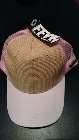 Gorra Rosa Fight