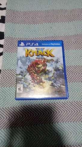Juego de play 4 nuevo knack