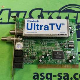 Tarjeta de AVerMedia UltraTV PCI 550 CAPTURADOR DE VIDEO