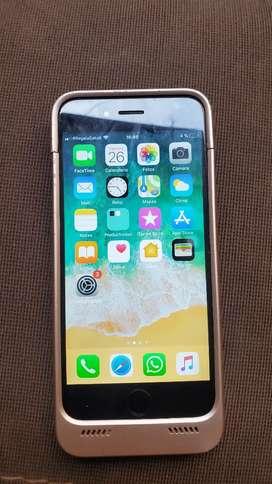Iphone 6 + case con batería interna