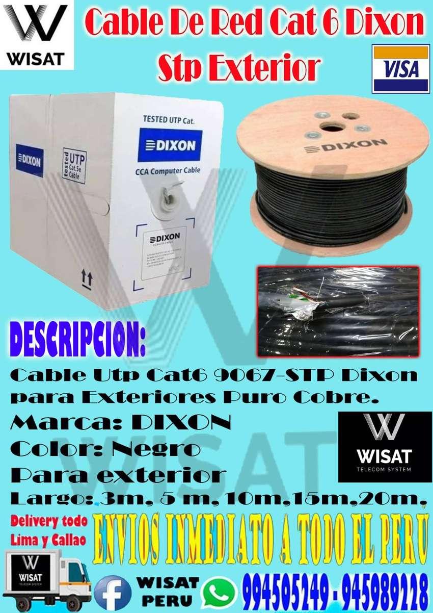 Cable Utp Cat6 9067-STP DIXON 0