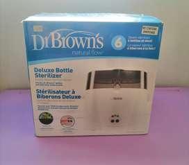 Esterilizador de teteros marca Dr Brown's