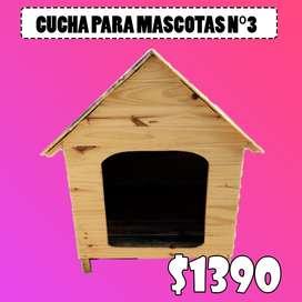 CUCHAS PARA MASCOTAS N3