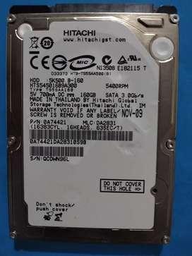 disco duro de 160 gb para portatil