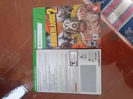Juego borderlands 2 original para xbox 360