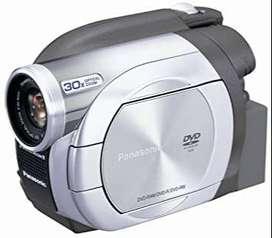 Videocámara filmadora panasonic modelo vdr - d100