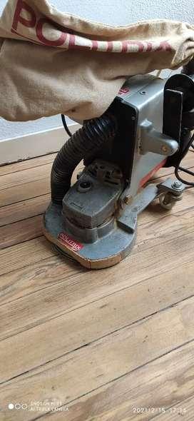 Lijadora de orillas de pisos de madera