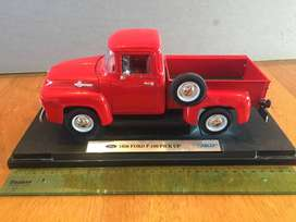 Ford F100 1956 Welly  (Auto a escala 1:18)