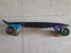 Skate scoop negro