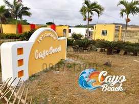 TERRENOS PLAYEROS 0987. 213710 | LOTIZACIÓN PRIVADA CAYO BEACH EN LA PARADISICA PLAYA DE PUERTO CAYO,SOLO EN EFECTIVO,S1